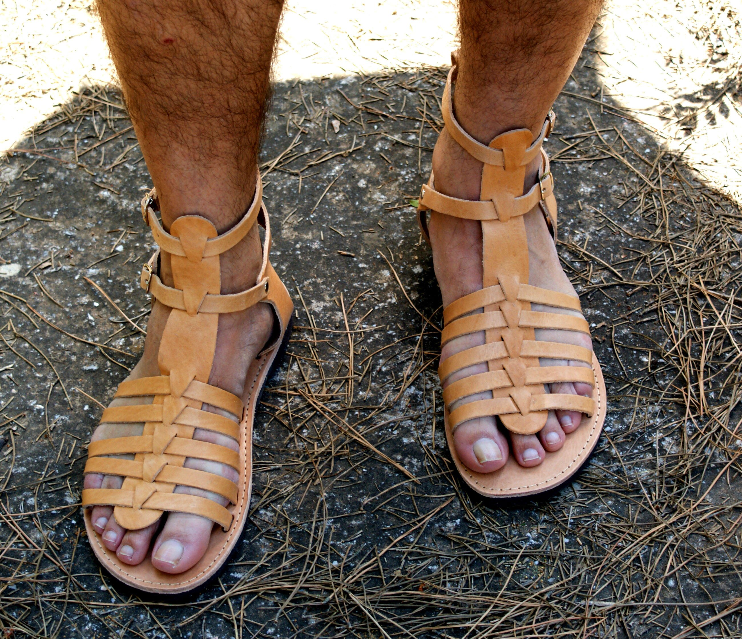 33c8c48b7cfa ADONIS men leather sandals  men Greek leather sandals  Gladiator sandals   mens ancient grecian