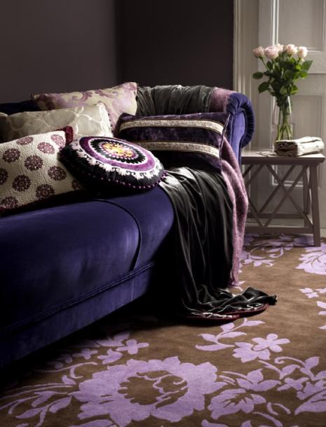 Purple Interiors A D Blog Luxury Living Room Pastel Living Room Living Room Sofa