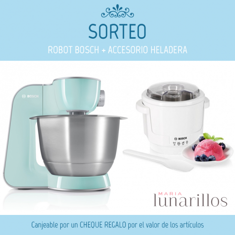 sorteo de un robot de cocina bosch mum5 color a elegir. Black Bedroom Furniture Sets. Home Design Ideas