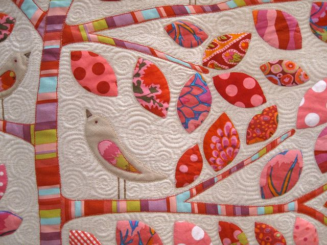 Lilly pilly quilting quilts bird quilt applique quilts