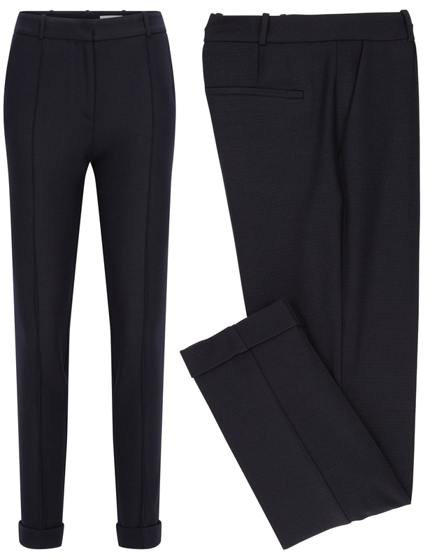 2d3315f9ad8be BOSS by Hugo Boss Acrila cuffed trousers
