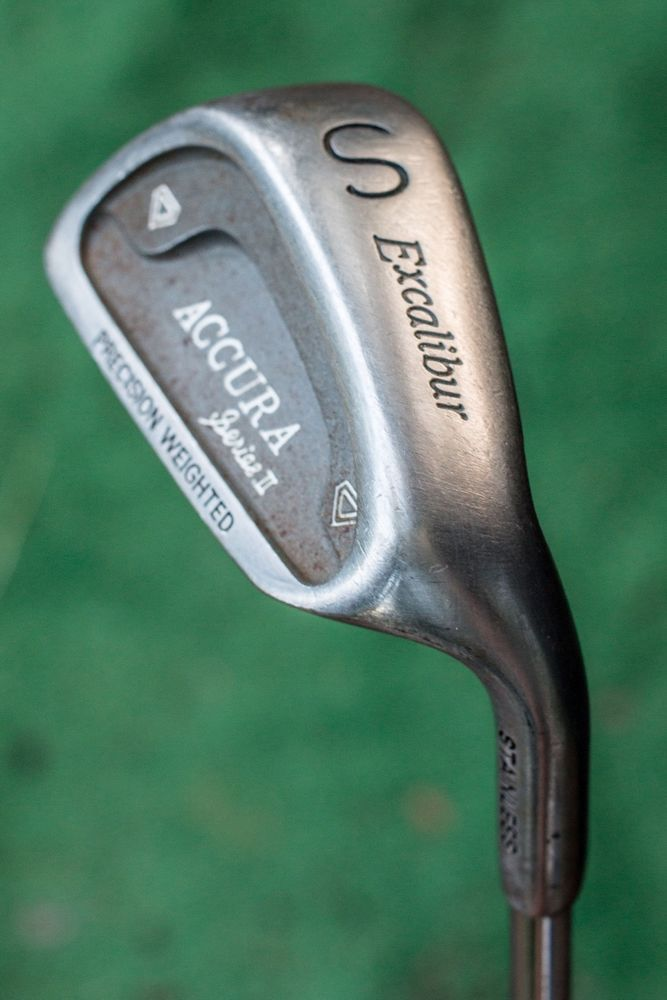 Excalibur Accura Series II Precision Weighted Sand Wedge Used - Acura golf clubs