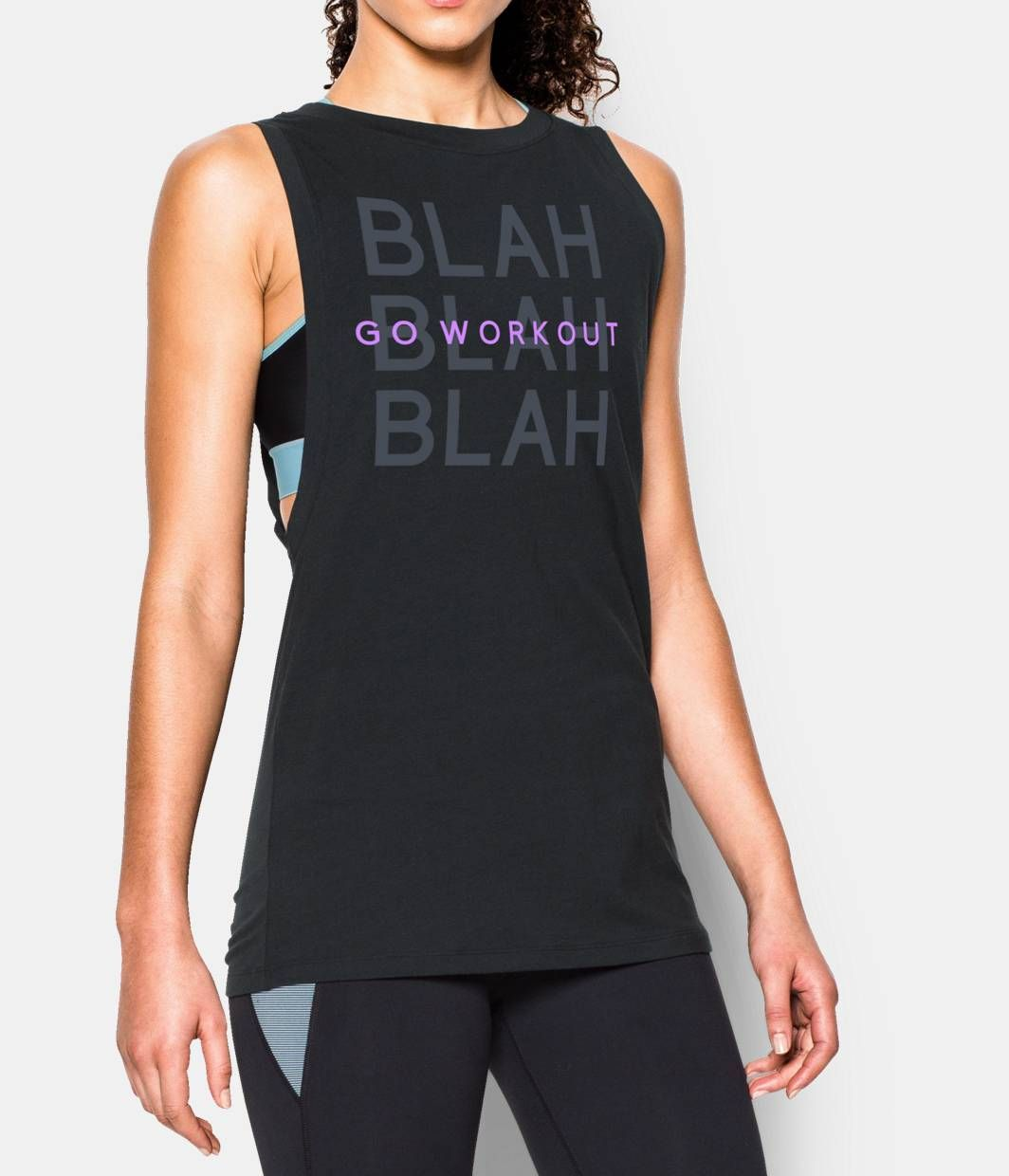 Go Workout Muscle Tank Under Armour Us Gym Clothes Women
