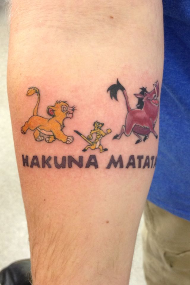 Hakuna Matata Tattoo Totally Wanted This One Tattoos Tattoos