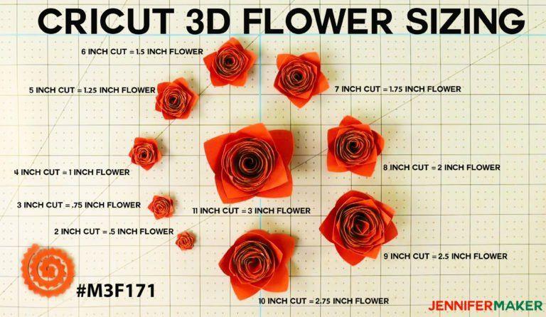 How to Make Cricut Paper Flowers (All 10!) - Jennifer Maker #paperflowercenterpieces