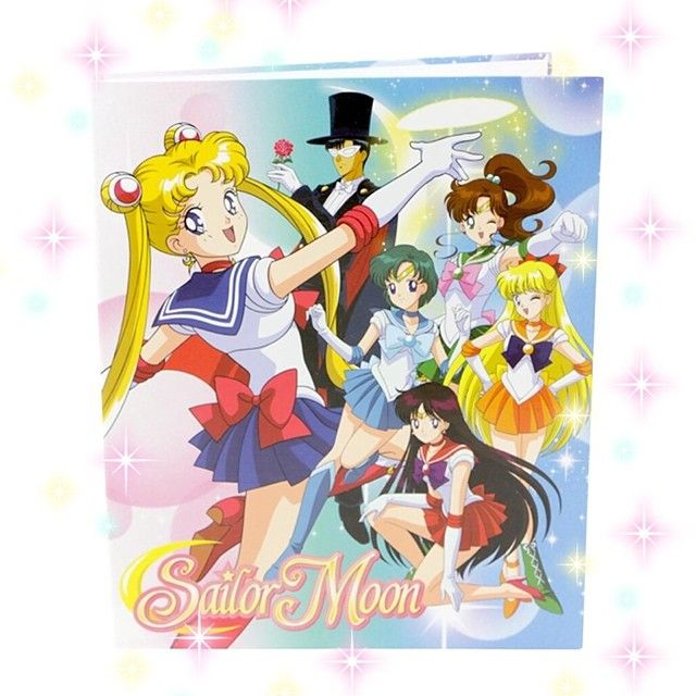 Sailor Moon Girls Group Binder!! Available At SHOPJEEN.com