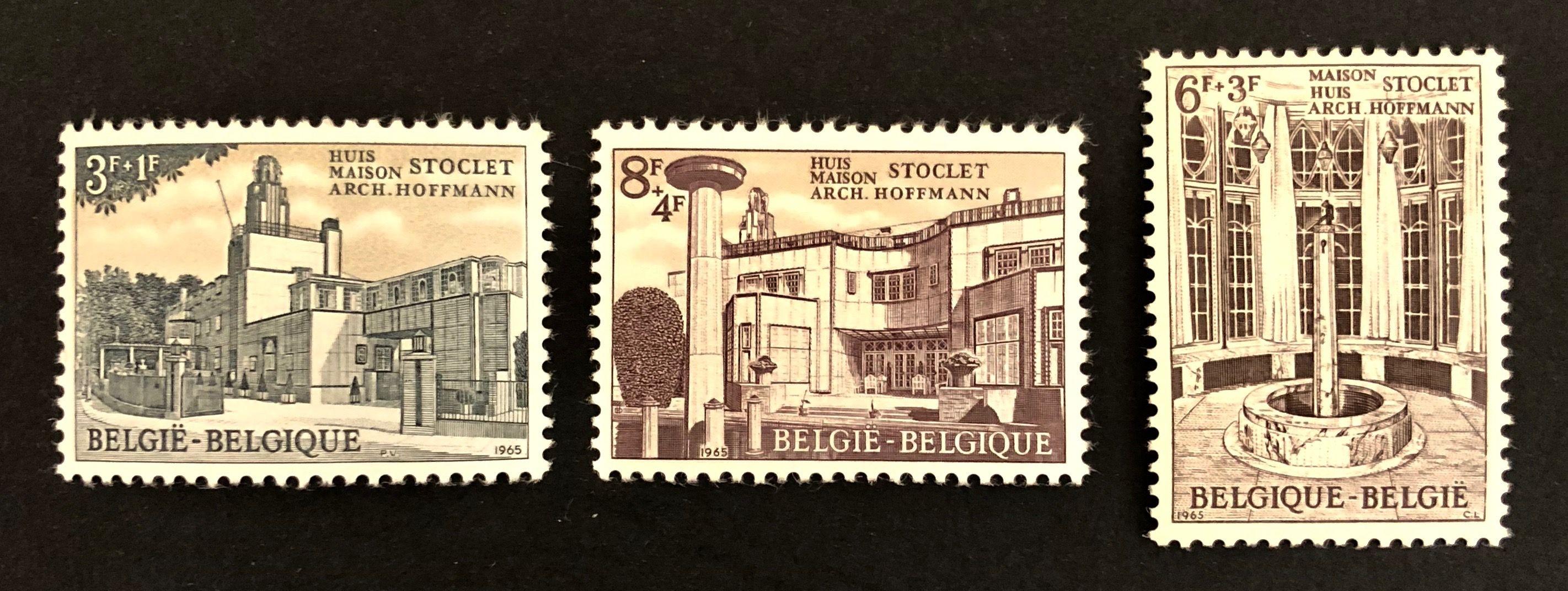 UNESCO WorldHeritage Stamps Belgium 🇧🇪 Stoclet House