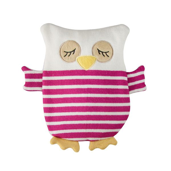 Hoot Meet Tia Haven Comfort Flat Owl Wheat Heat Bag