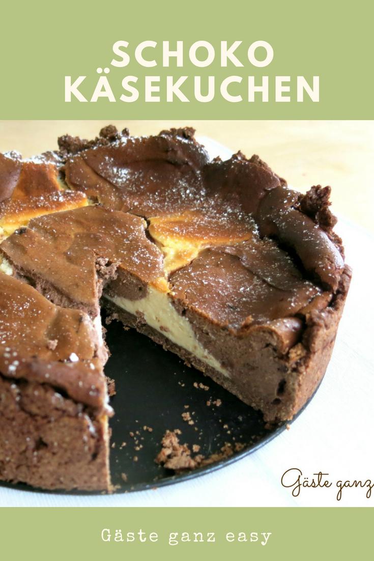 Kase Schokokase Kuchen Oder Kuhfleckentorte Kuchen Mit Kirschen Kuchen Lebensmittel Essen