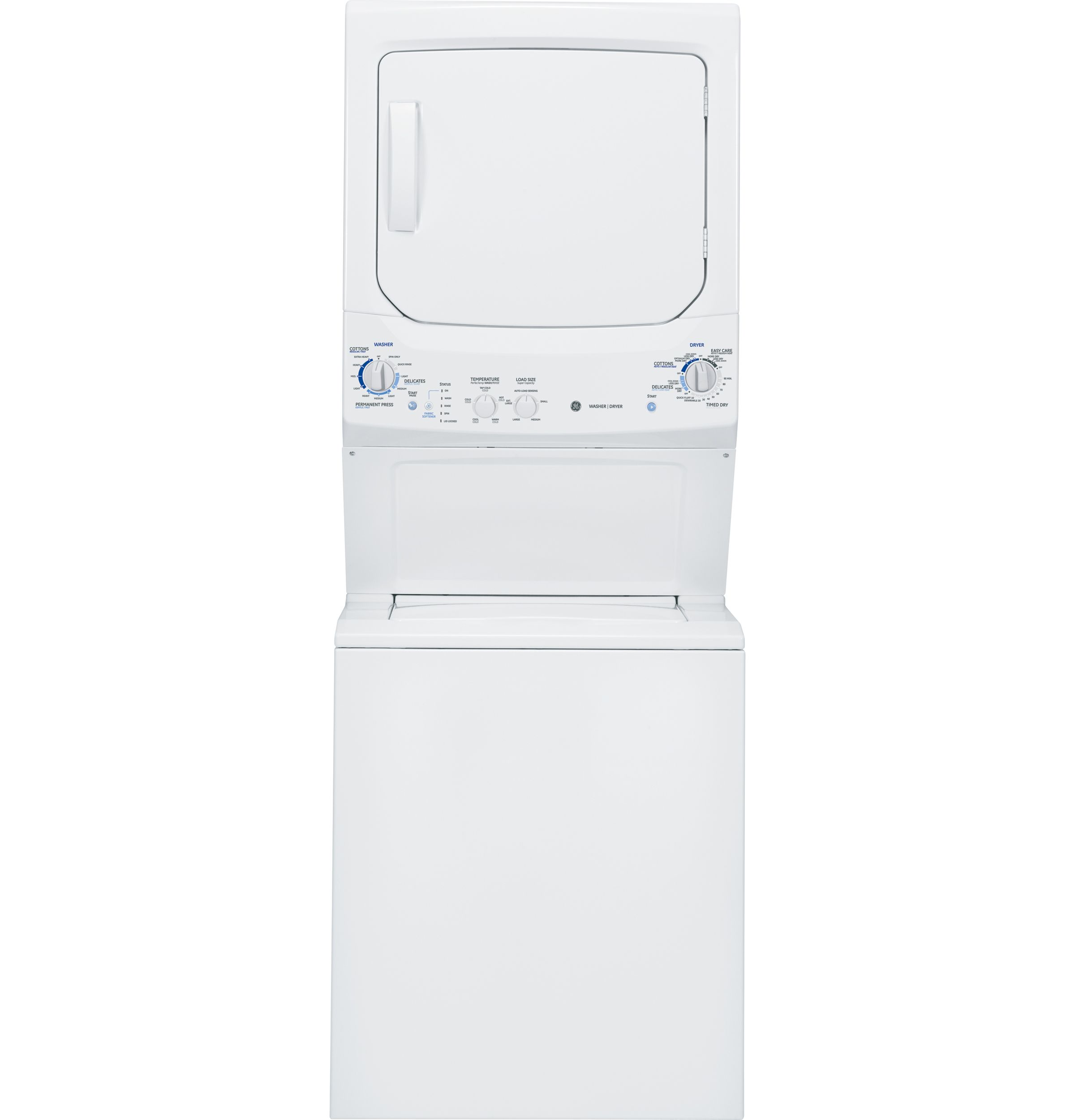 Gtun275emww Ge Unitized Spacemaker 3 4 Doe Cu Ft Stainless