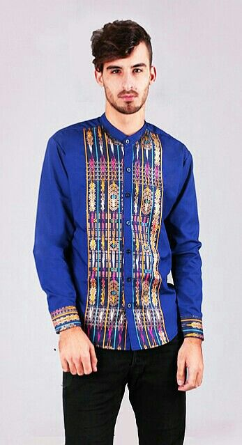 Mavazi summer menswear - West Sumatera fabric applicated in modern outfit