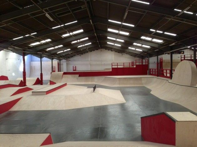 Beasty | Skate | Skate park, Skate ramp, Bike parking
