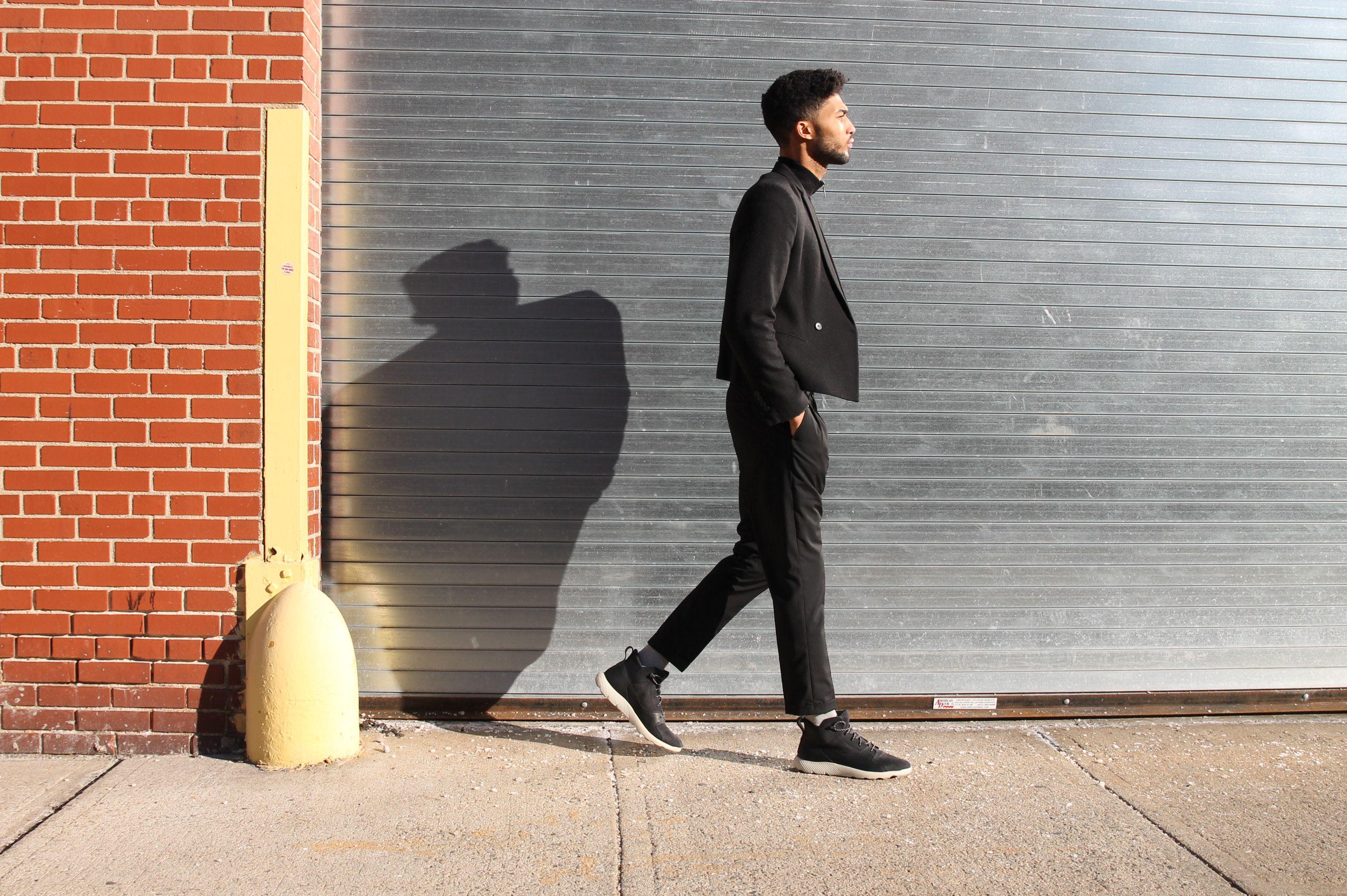Men's FlyRoamT Leather Sneaker Boots | Street Style