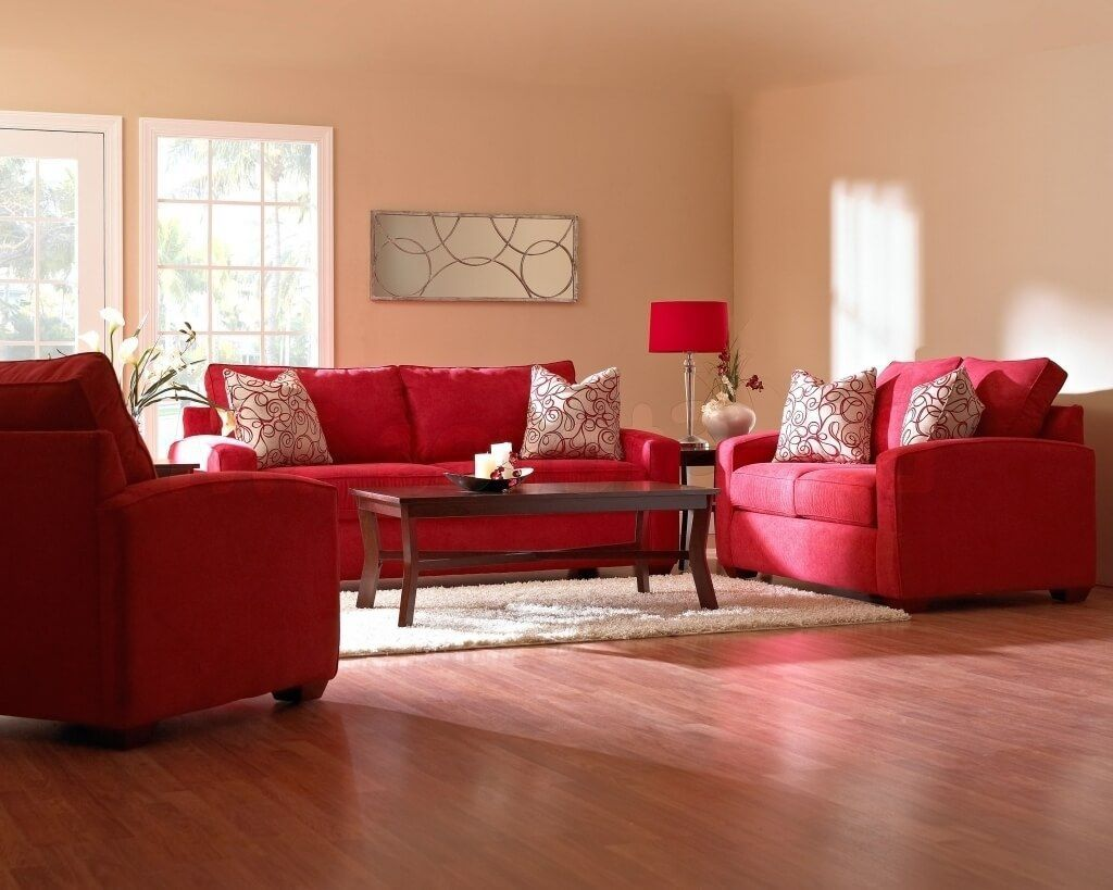 awesome black and red living room set pertaining to