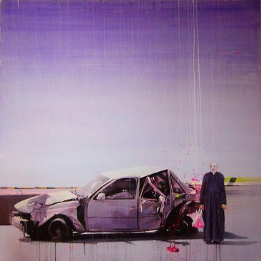 """Saatchi Online Artist Fernando Gómez Balbontín; Painting, """"El Millonario de Cristo"""" #art"""