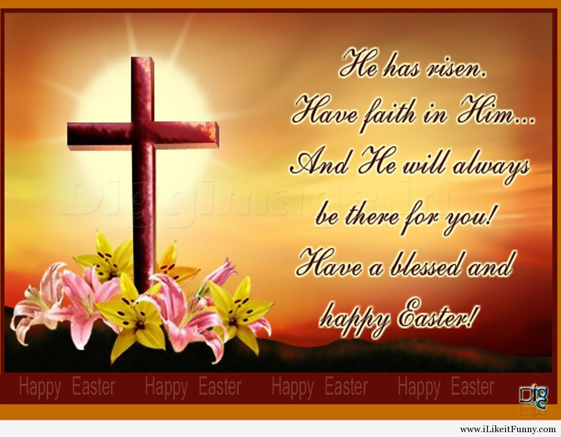 Have A Blessed And Happy Easter Easterjesus Is Alive