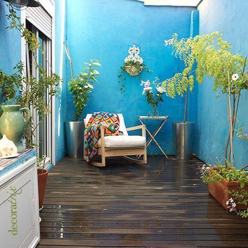 Casa de familia patio interior patio pinterest for Terrazas para patios pequenos