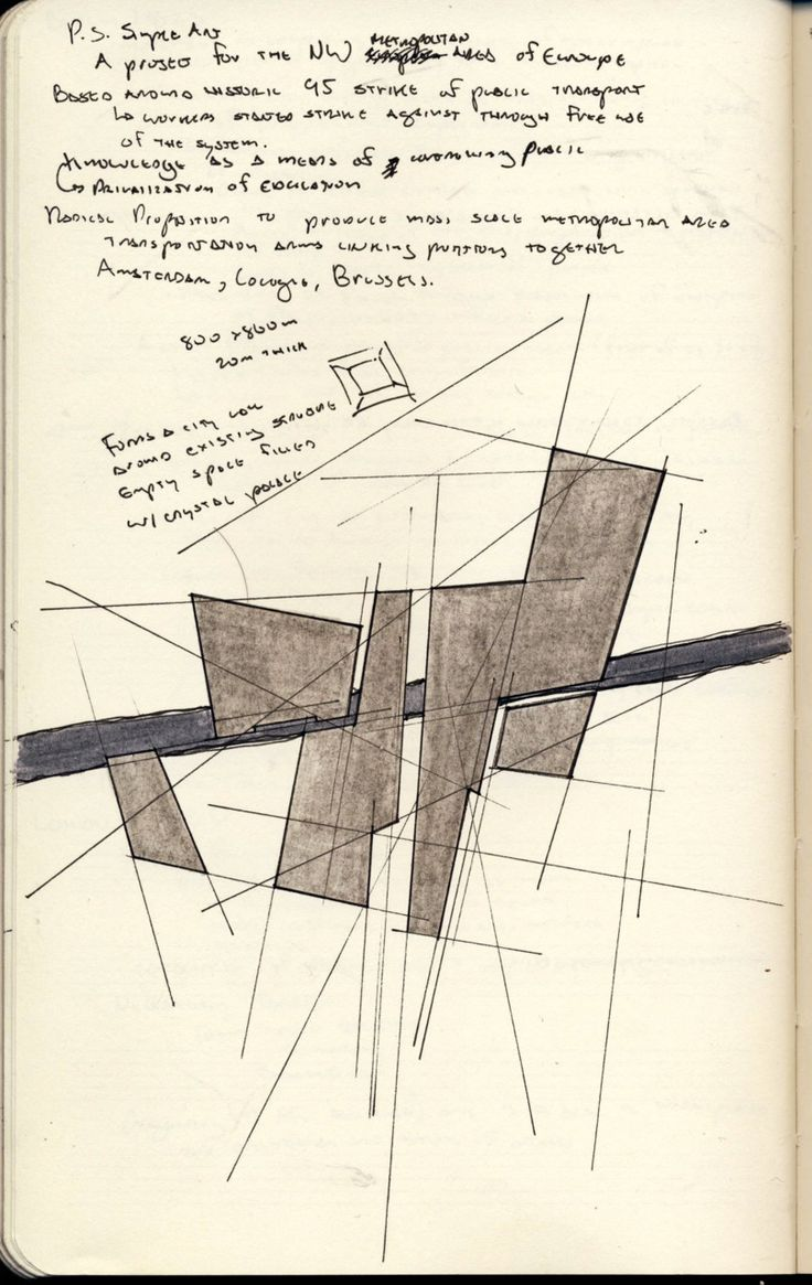 Concept sketch large something showing spatial for Conceptual architecture diagram