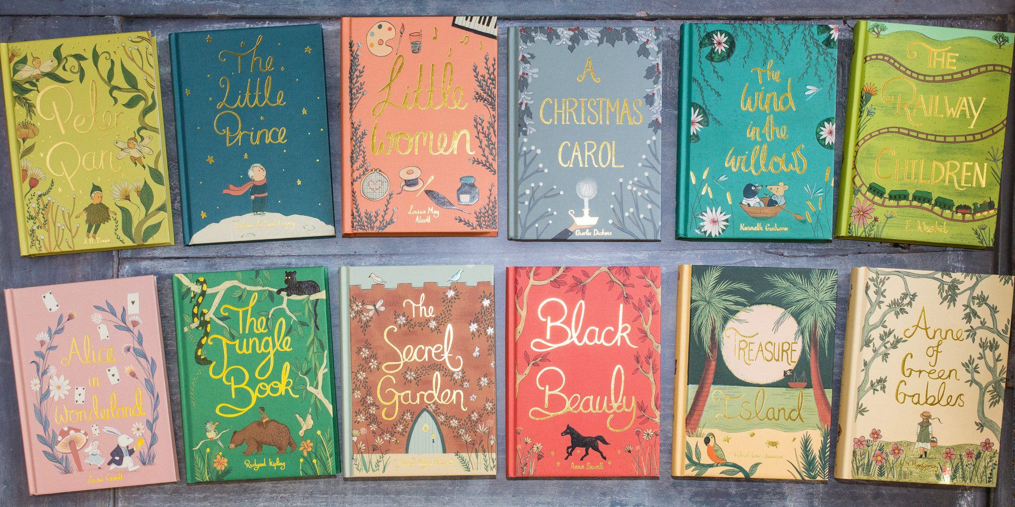 Wordsworth Have Released A Lovely And Affordable Set Of Classics Children S Novels In Their Collector S Editions Featurin Childrens Novels Classic Books Books