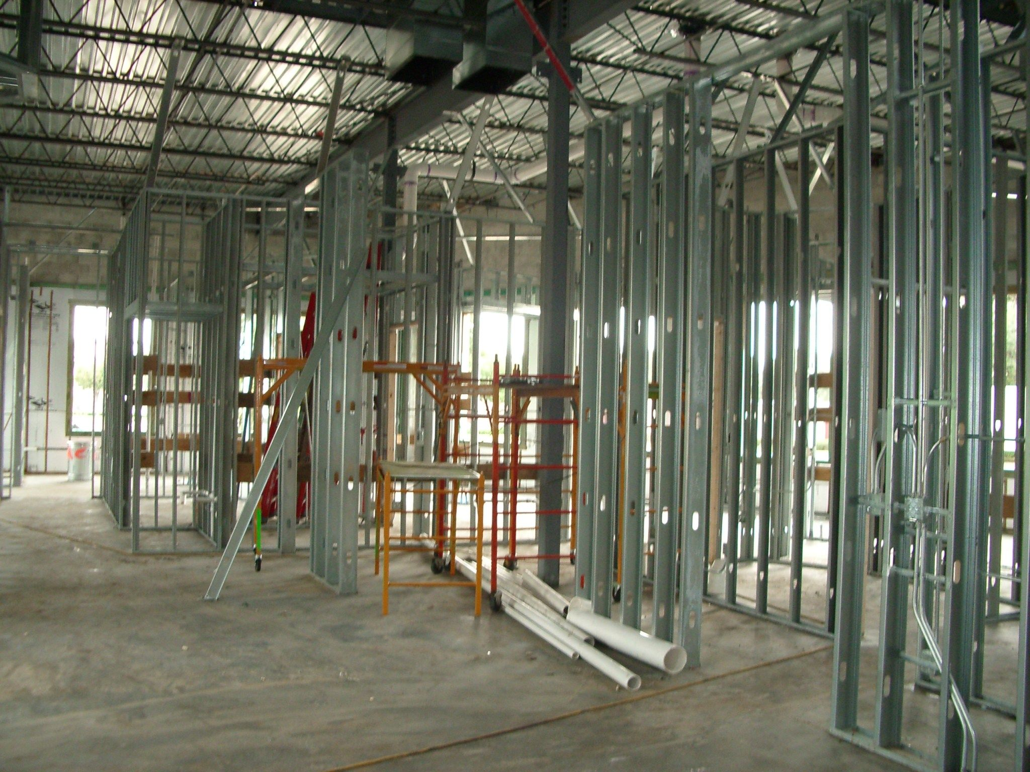 metal partitions under construction pinterest