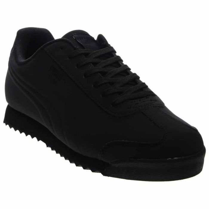 301944638680 Puma Roma Mono Emboss Black Retro Running Shoes and get free shipping on  orders more than  75