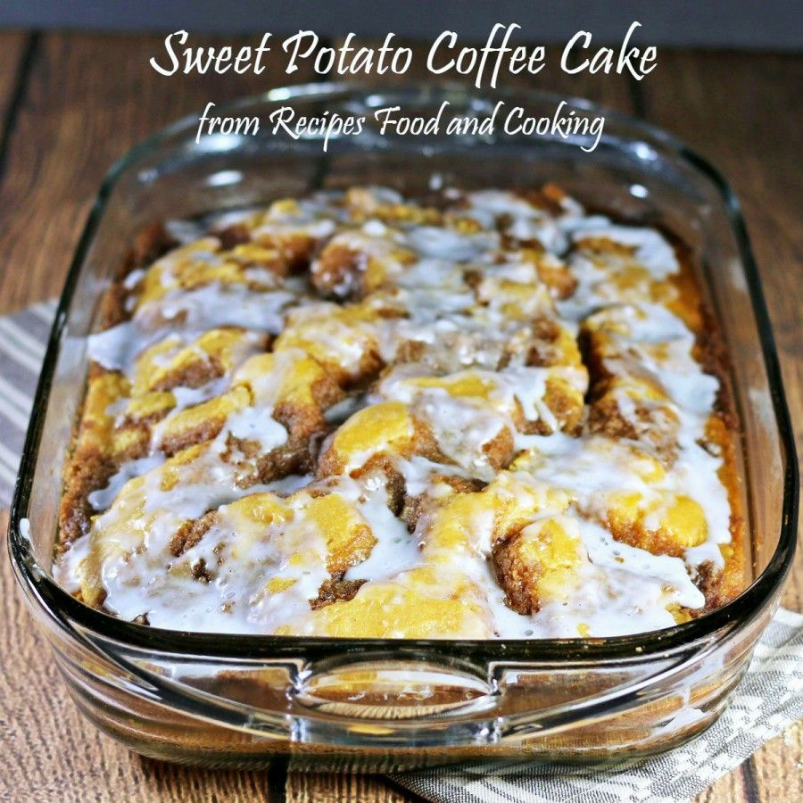 Sweet Potato Coffee Cake - Recipes Food and Cooking