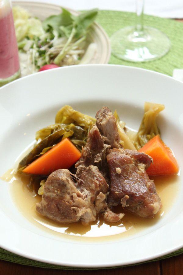 豚肉とキャベツの蒸し煮 ゴマ風味 by 丹下慶子 | レシピサイト「Nadia ...