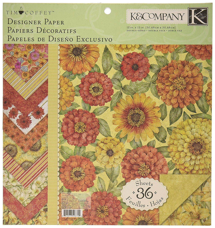 Amazon.com: K&Company Tim Coffey Cottage Garden Designer ...