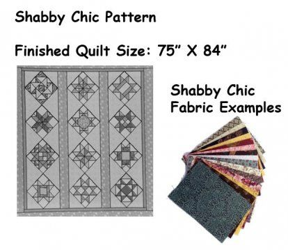 Shabby Chic Quilt Block Style - BOM quilt blocks available at a ... : quilting store near me - Adamdwight.com