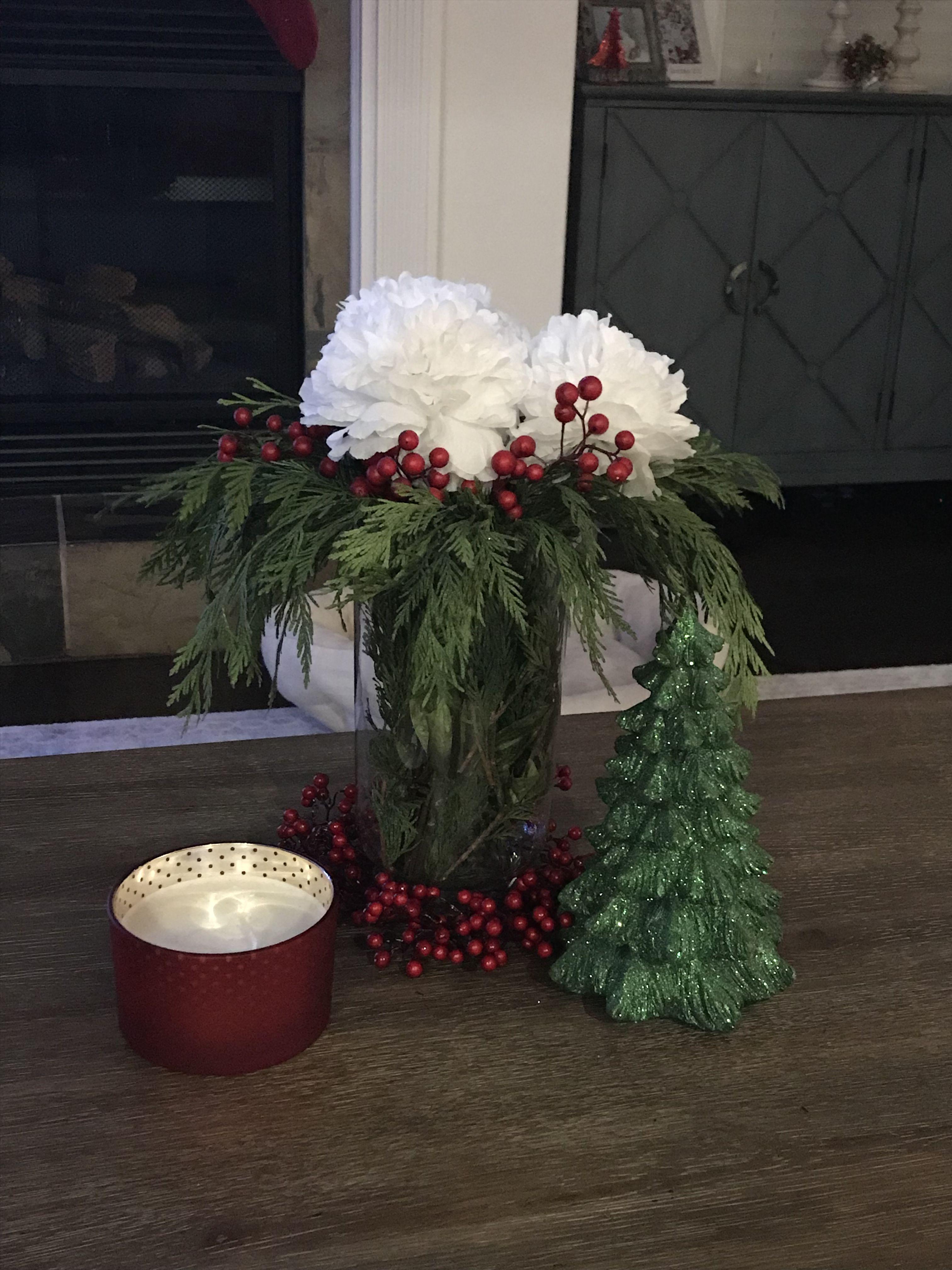 Coffee table Christmas 2018 | Christmas decorations ...