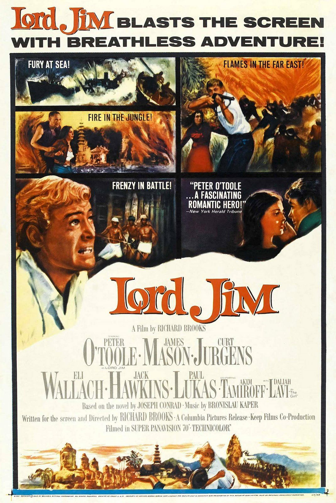 Lord Jim 1965 A Film By Based On The Novel By Joseph Conrad