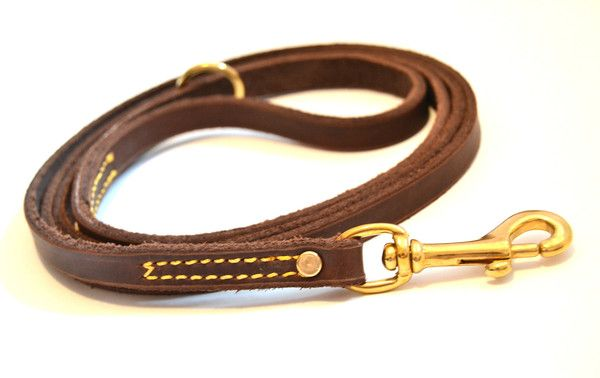It's (not quite) Like Buttah Leather Leash