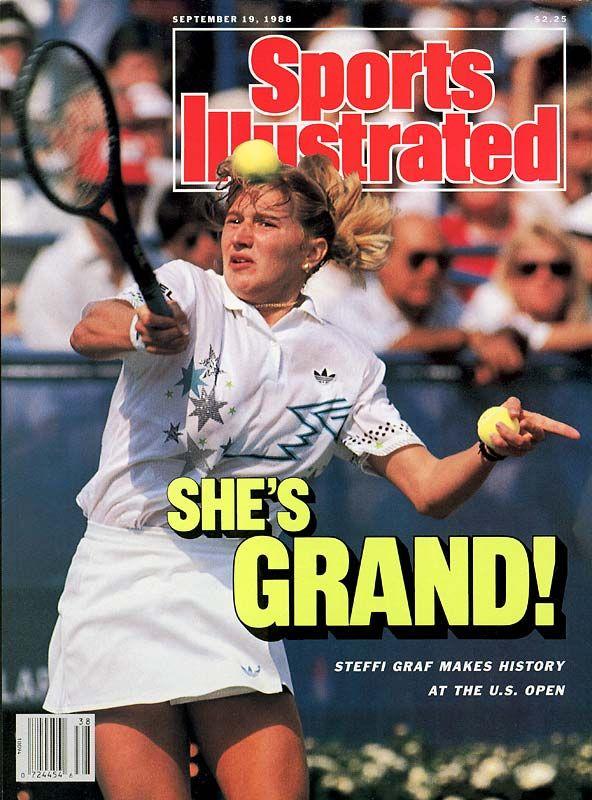 Steffi Graf Does It Golden Grand Slam Esporte
