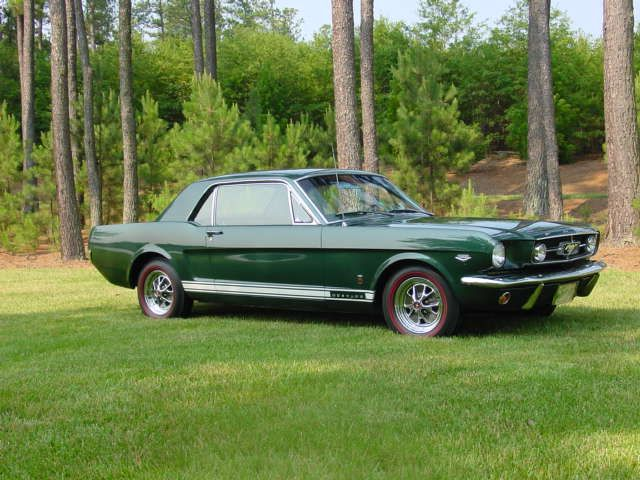 1965 Green Ford Mustang Google Search Mustang Coupe Ford