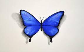 Resultado De Imagen Para Mariposas Para Dibujar A Lapiz 3d Vamos A