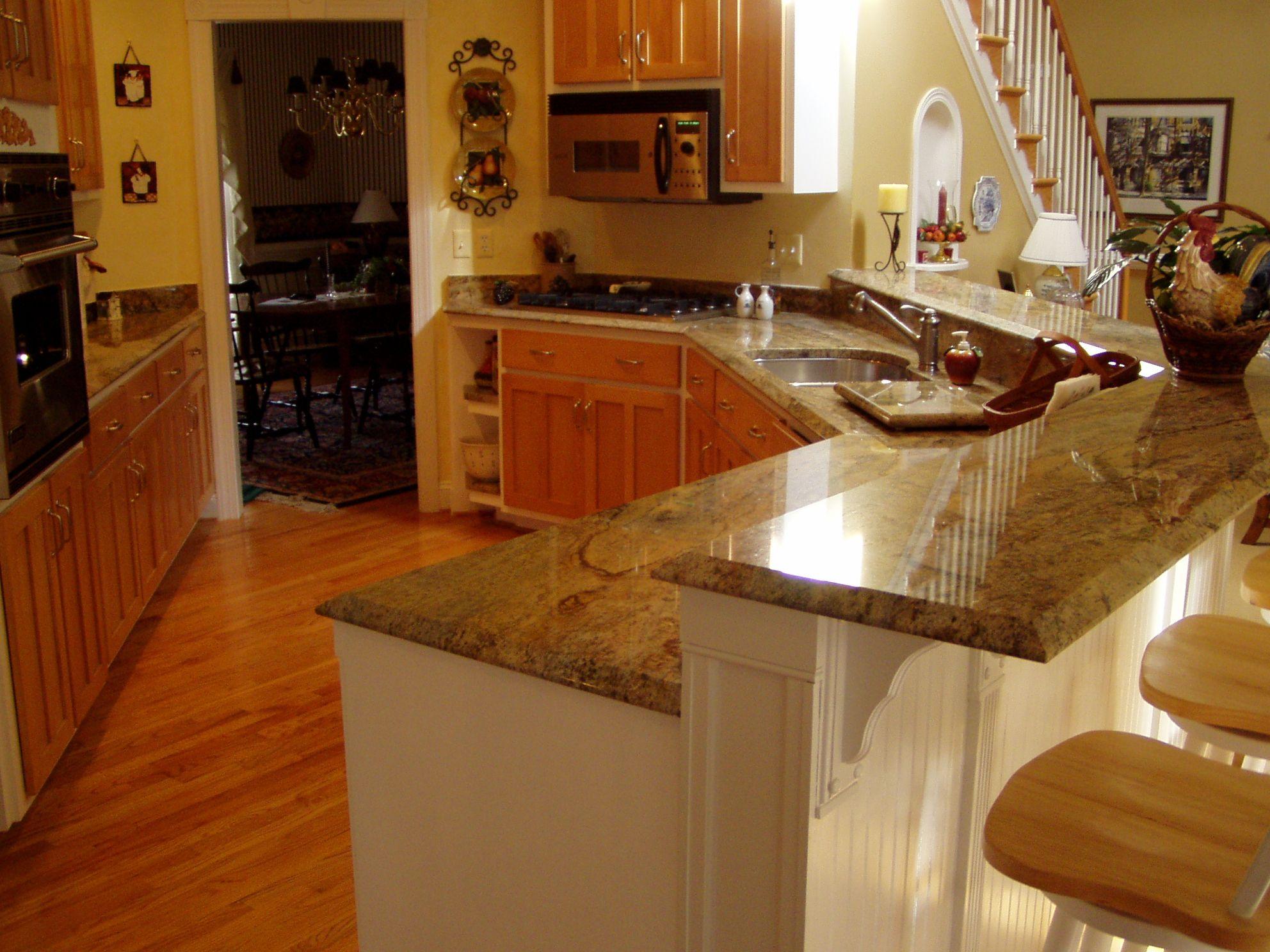 Formica Countertops That Look Like Granite | Gold Granite Countertops «  Capitol Granite