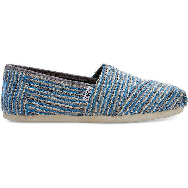 TOMS Classic Sequin Boucle Slip-On Shoe i695Q