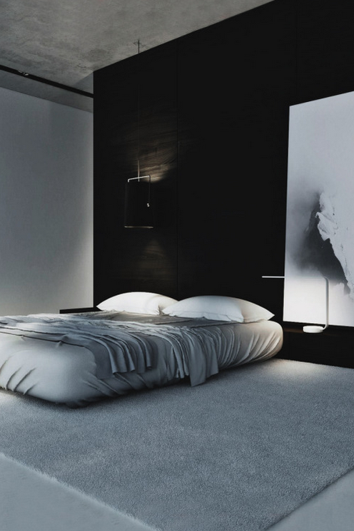 White Room Decor Bedroom Minimalism