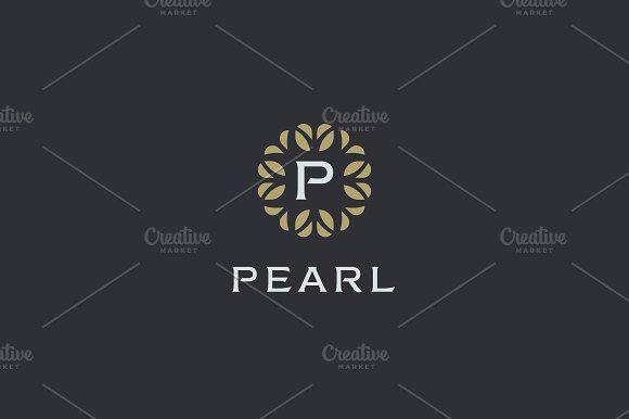 Premium monogram letter p by bureau on creativemarket logo