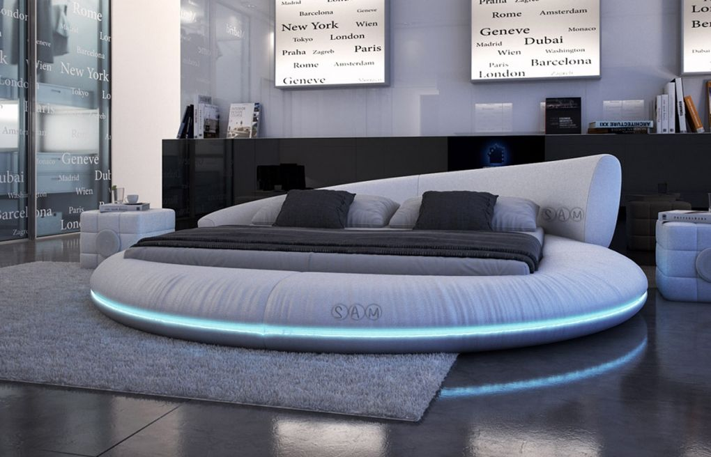 Sam Rundbett 140 Cm Mit Led Innocent Bett Modern Runde Betten