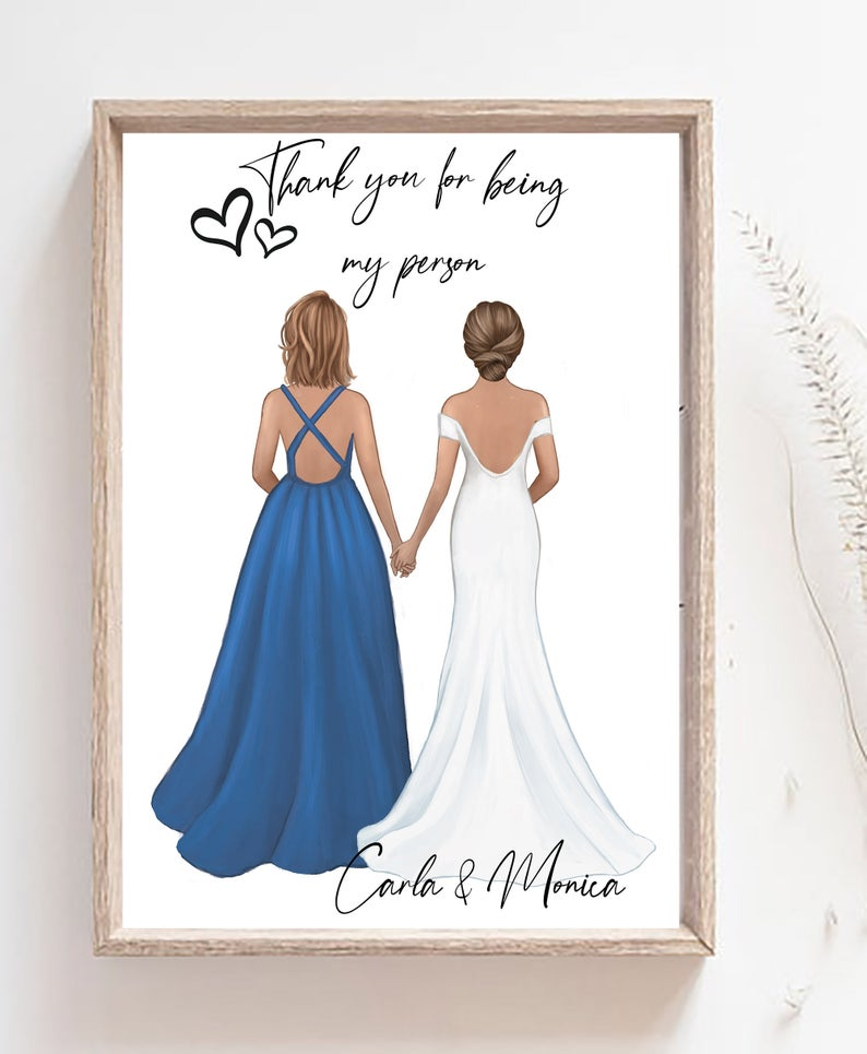 Gift For Women Wedding Gift Bridesmaid Gift Gift Ideas Etsy In 2020 Best Friend Wedding Gifts Wedding Gifts For Friends Sister Wedding Gift
