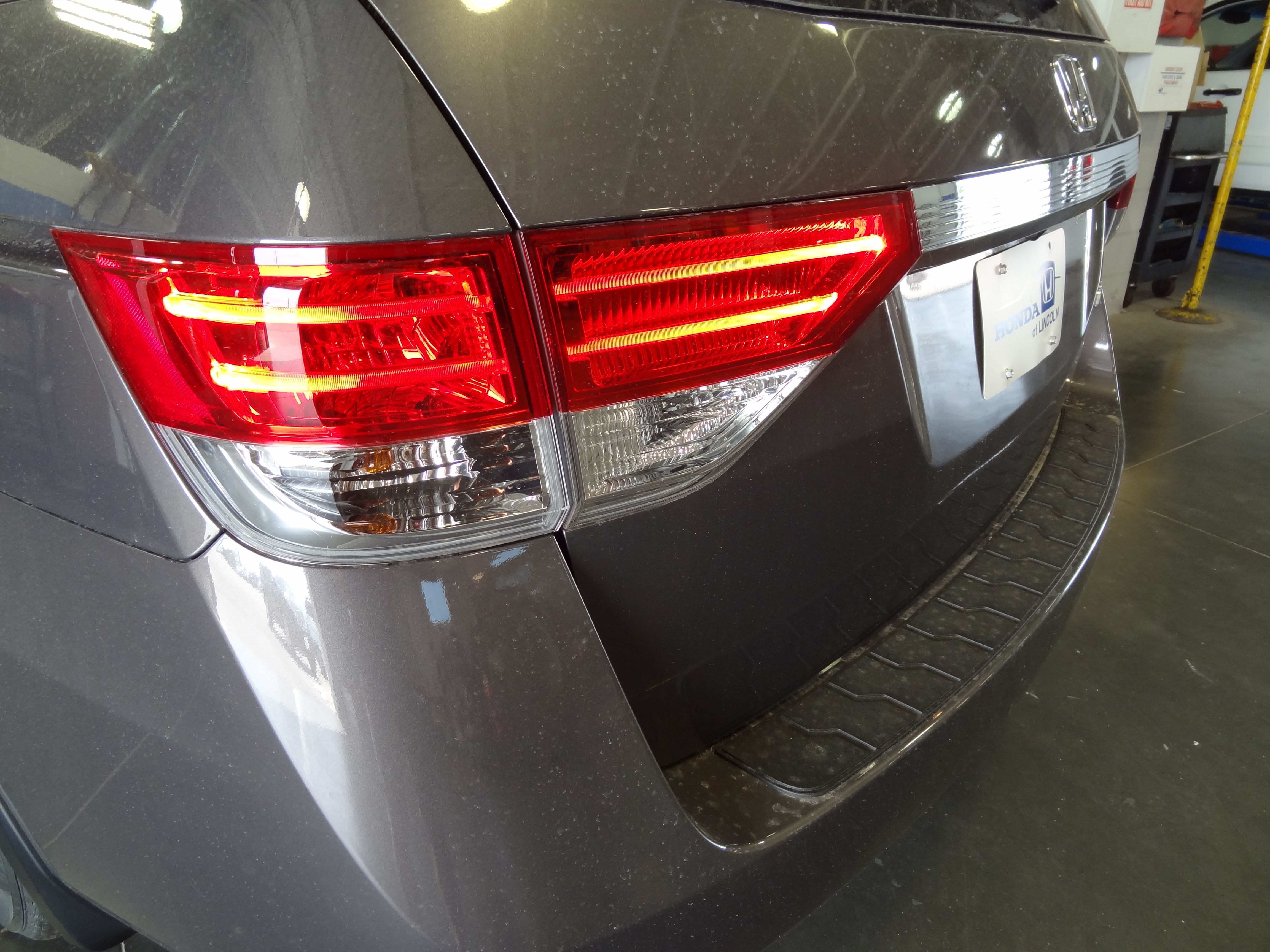 New led tail lights honda of lincoln 2014 honda odysseyled