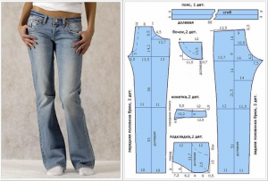 Pantalones A La Cadera Botas Rectas Con Patrones Manualidadesya Paso A Paso Faciles Pants Pattern Women Pants Pattern Patterned Jeans