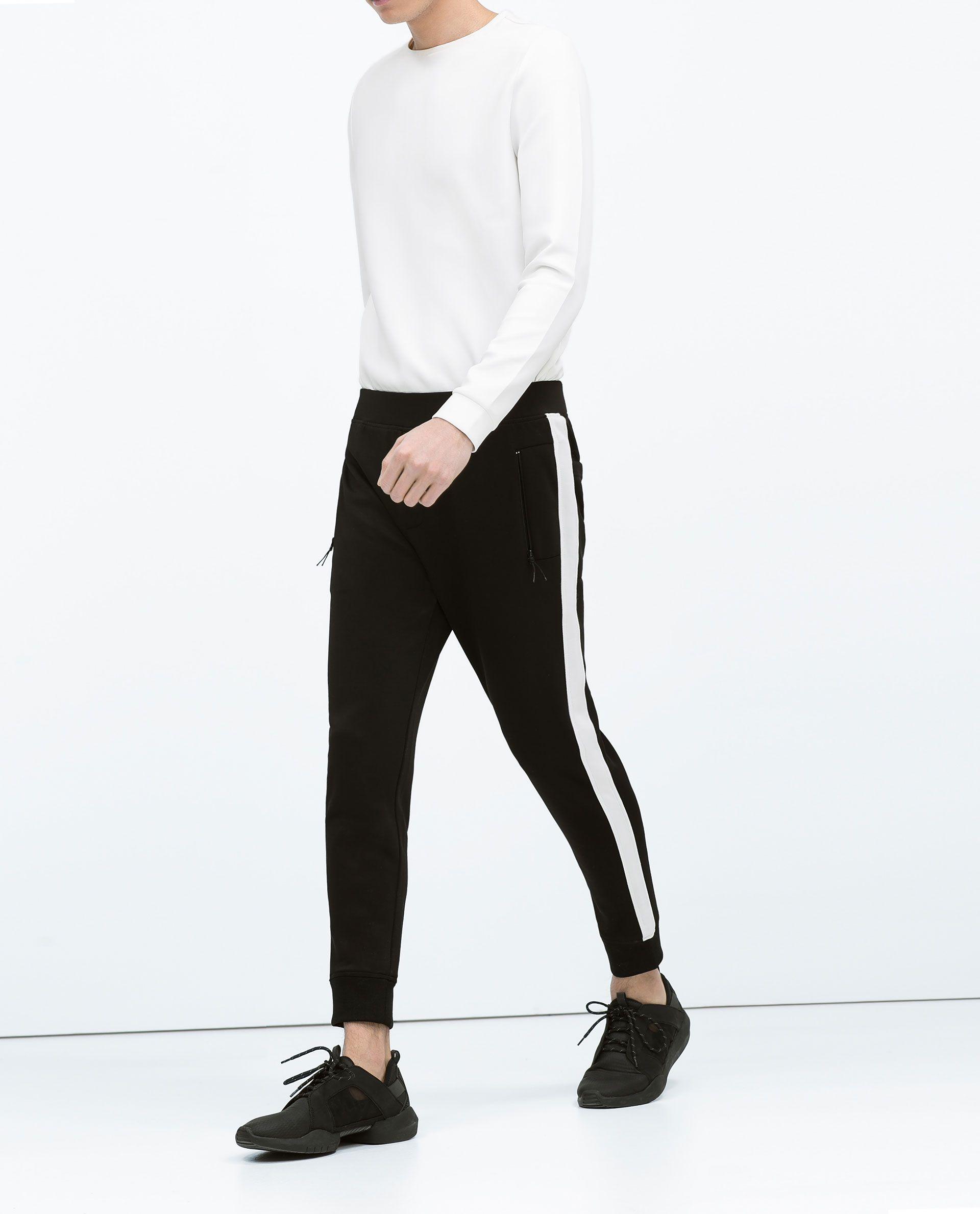 Summer Pants Men Brand New Korean Slim Fit Side Stripe