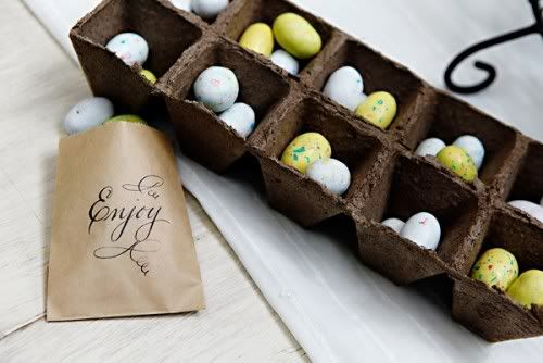 Love the neutral Easter pallet