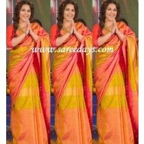 Multi Color Uppada Silk Saree