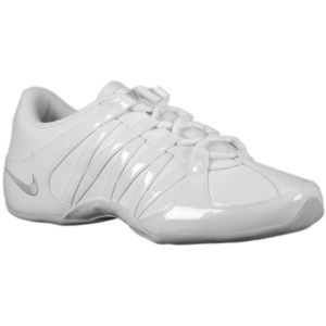 new concept 7500e ab1ae Nike Cheer Flash - Women s - Cheer Dance - Shoes - White Neutral Grey.  Dance and Cheer! Valley West Mall