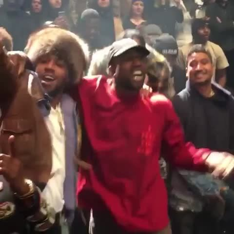 Kanye West Kid Cudi Travis Scott Air Force Ones Supermodels Behind The Scenes