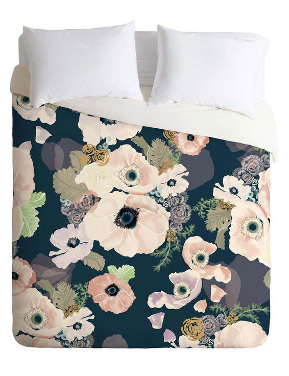 Brilliant Blooms Duvet Cover