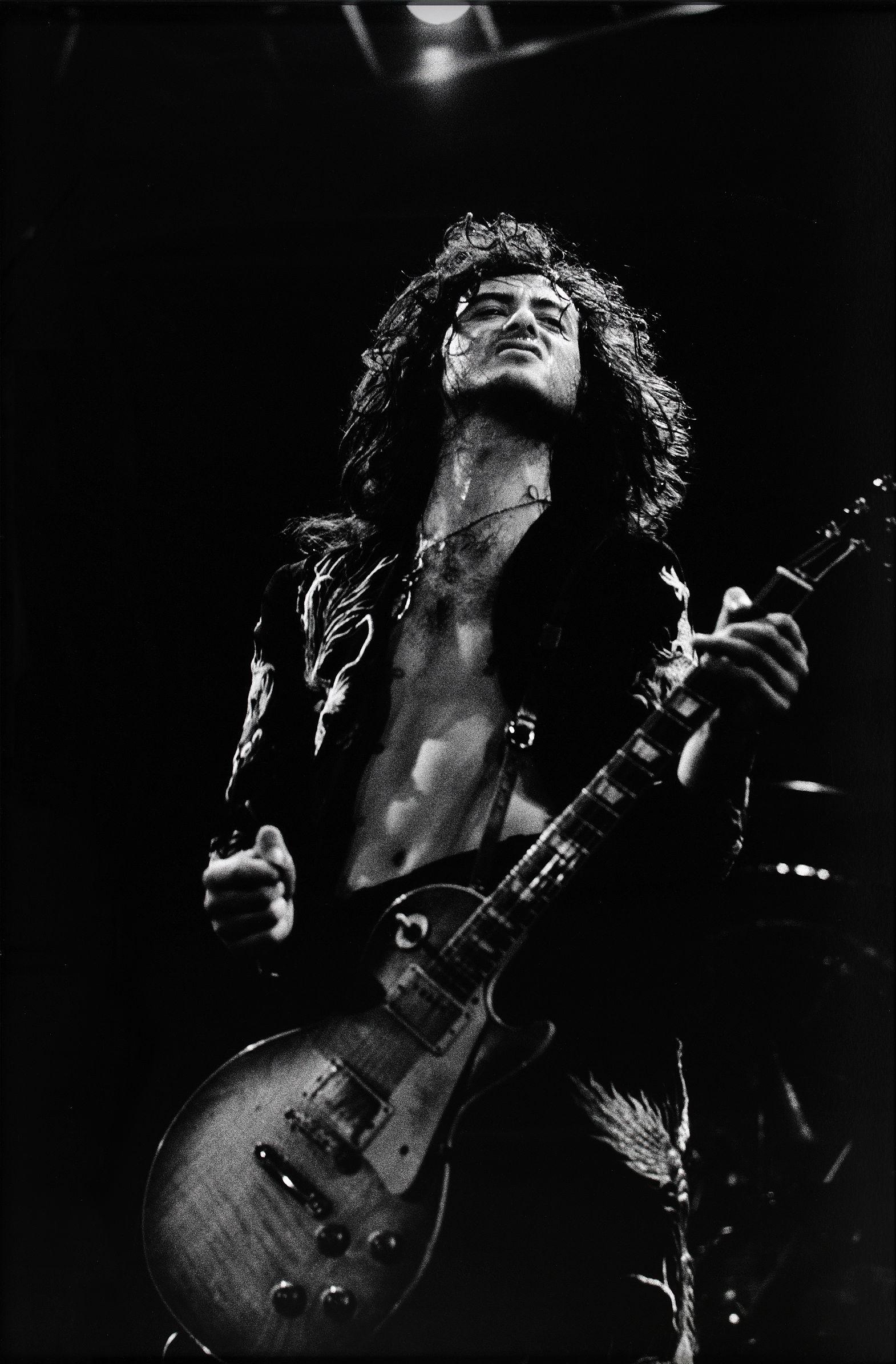 Jimmy Page Photo C Torbjorn Calvero